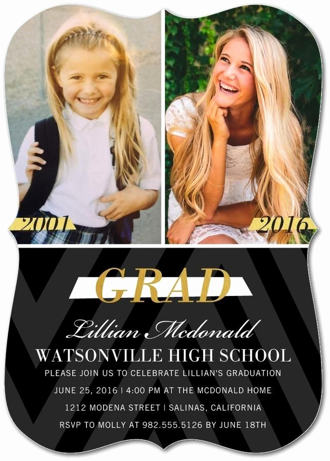 High School Graduation Invitation Elegant Best 25 Graduation Invitations Ideas On Pinterest