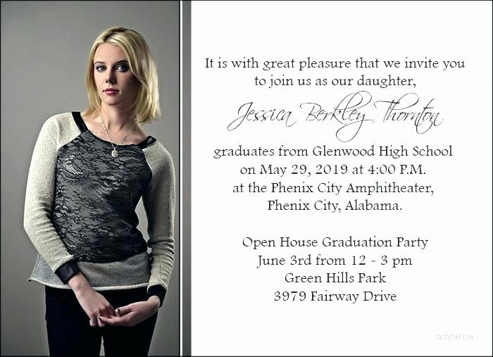 High School Graduation Invitation Etiquette Lovely High School Graduation Announcement Etiquette – Digipulse