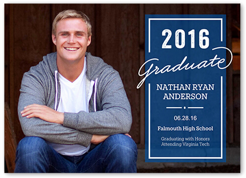 High School Graduation Invitation Ideas Best Of Graduation Announcement Wording Ideas for 2017