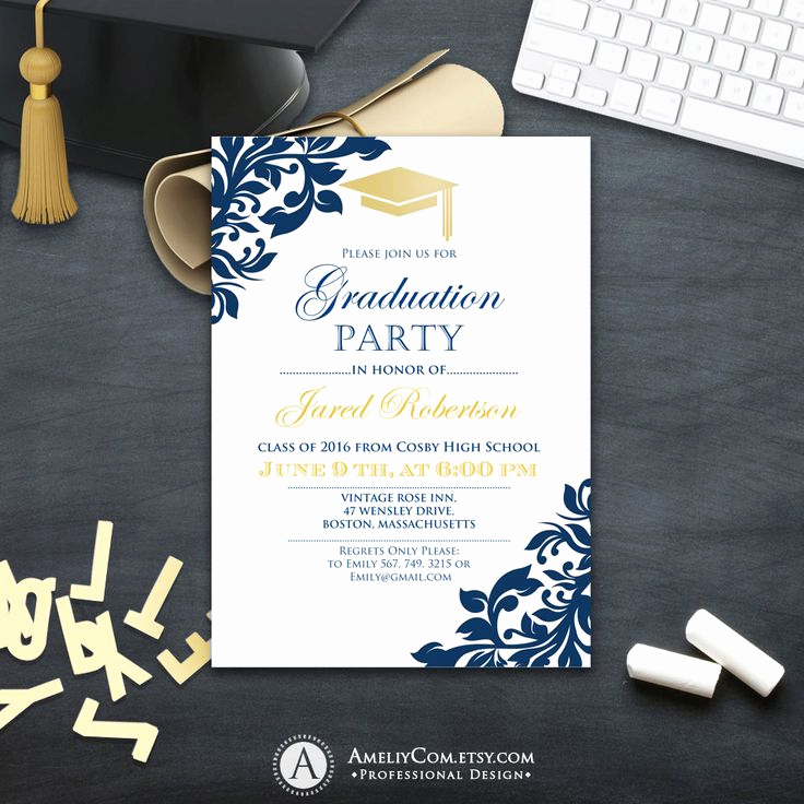High School Graduation Invitation Ideas Luxury 25 Best Ideas About High School Graduation Invitations On