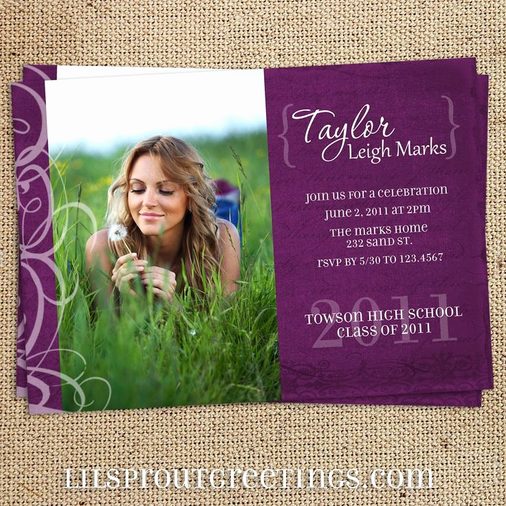 High School Graduation Invitation Lovely 1000 Ideas About High School Graduation Invitations On