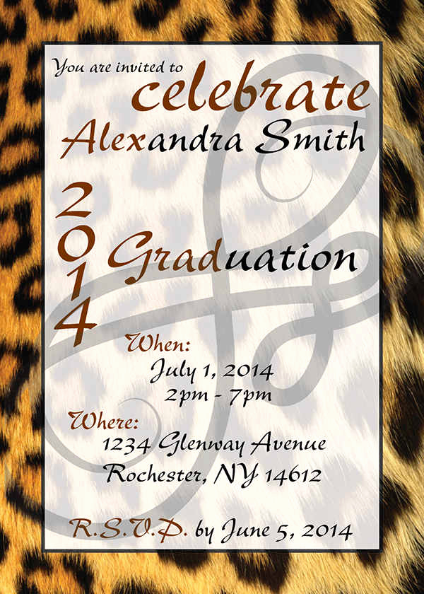 High School Graduation Invitation Templates Elegant 34 Sample Invitation Templates Psd Ai