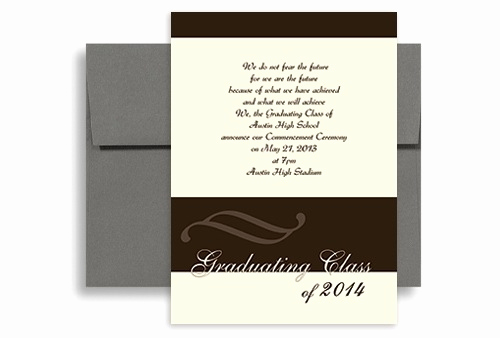 High School Graduation Invitation Templates Fresh College Graduation Announcements Templates 2018
