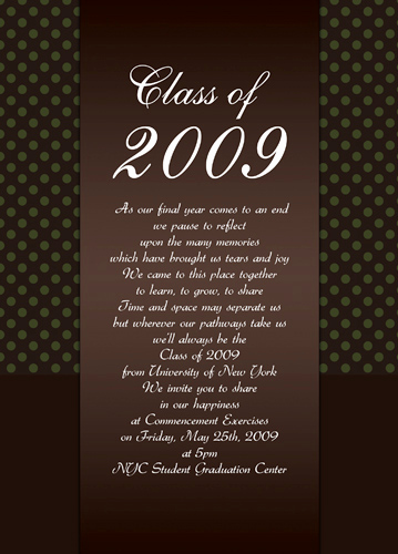 High School Graduation Invitation Templates Fresh Graduation Ideas On Pinterest