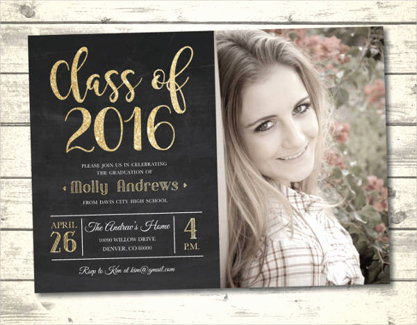 High School Graduation Invitation Templates Inspirational 19 Graduation Invitation Templates Psd Ai Word Pages