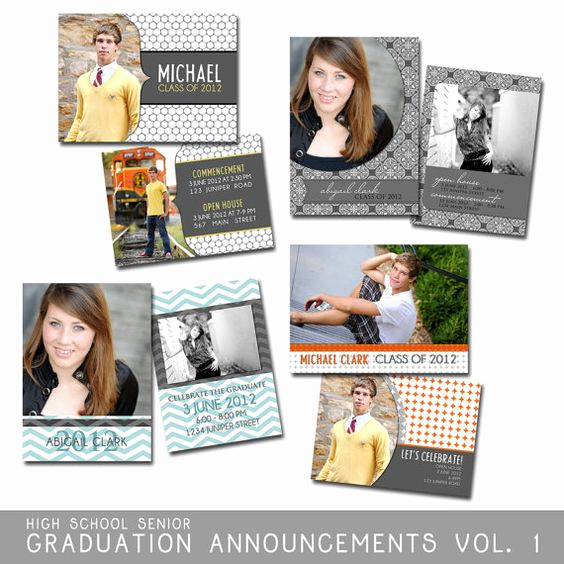 High School Graduation Invitation Templates Inspirational Taylor Graduation Announcements Shop Templates for