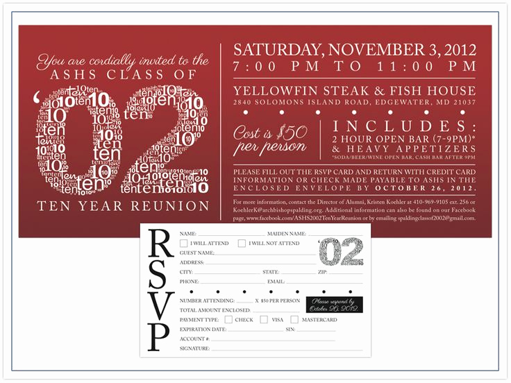High School Reunion Invitation Template Awesome Best 25 Class Reunion Invitations Ideas On Pinterest