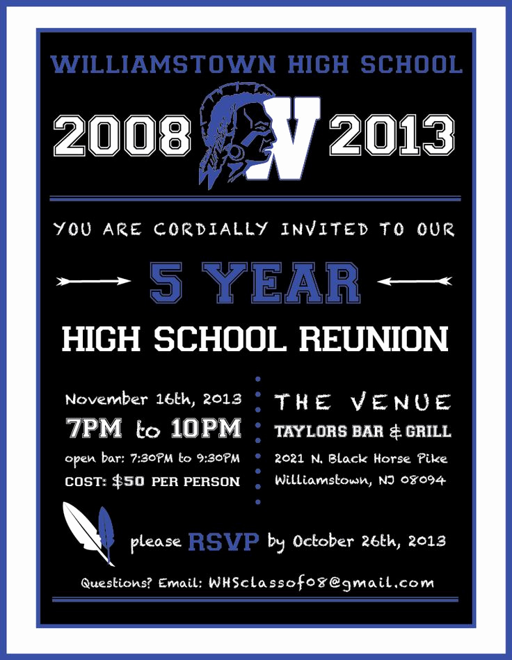 High School Reunion Invitation Template Elegant 66 Best High School Reunion Invites Images On Pinterest