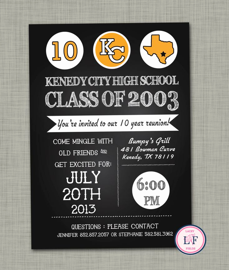 High School Reunion Invitation Template Inspirational Best 25 Class Reunion Invitations Ideas On Pinterest