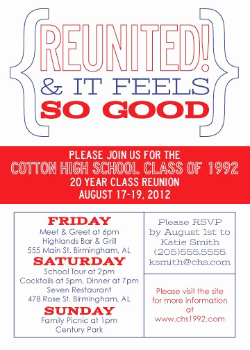 High School Reunion Invitation Wording Luxury 25 Best Ideas About Class Reunion Invitations On