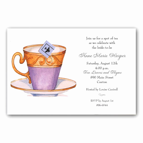 High Tea Invitation Wording Awesome formal Tea Party Invitation Wording