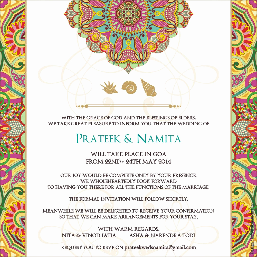 Hindu Wedding Invitation Wording Best Of Wedding Logo Wedding Invitations Cards Indian Wedding