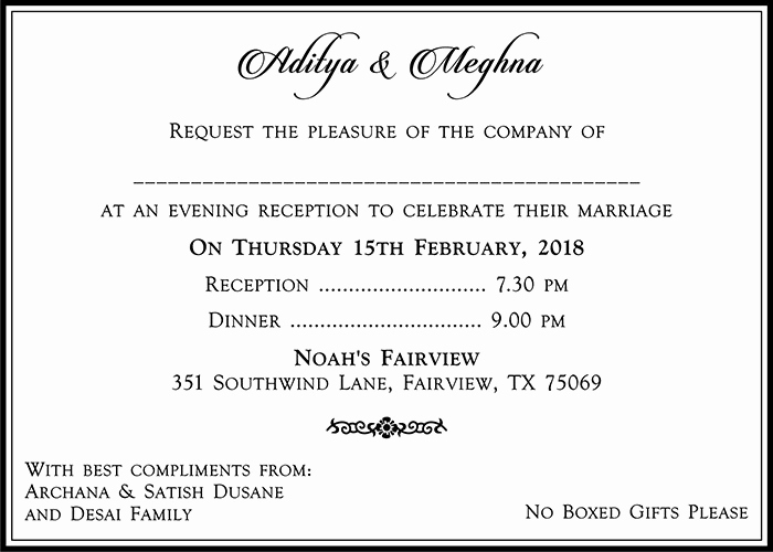 Hindu Wedding Invitation Wording Inspirational Hindu Wedding Cards Wordings