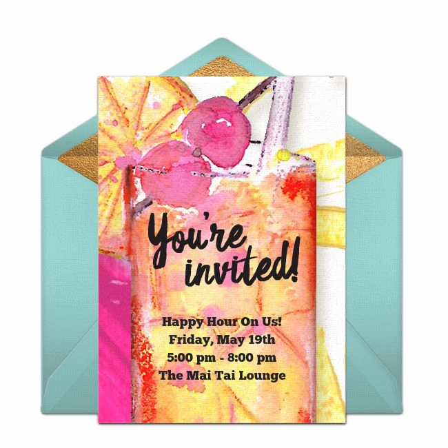 Holiday Happy Hour Invitation Awesome 17 Best Images About Free Party Invitations On Pinterest