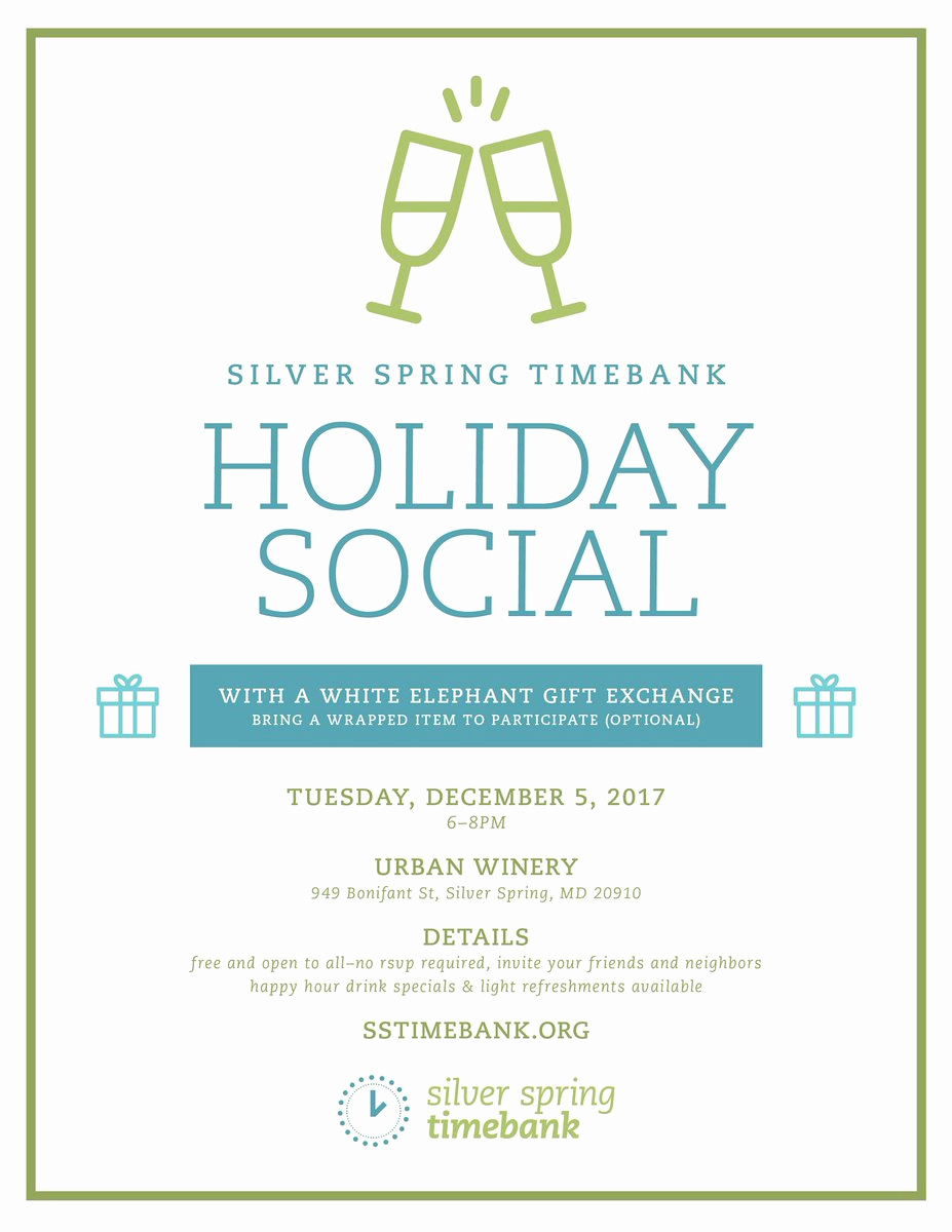 "Holiday Happy Hour Invitation Awesome Sstimebank On Twitter ""remember to Take some Time From"