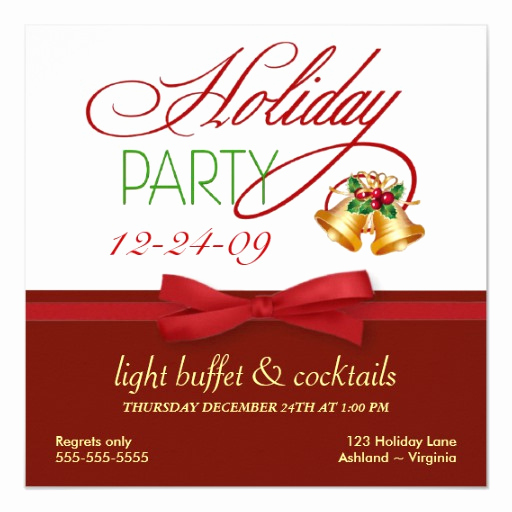 Holiday Open House Invitation Wording Best Of Christmas Holiday Open House Invitations