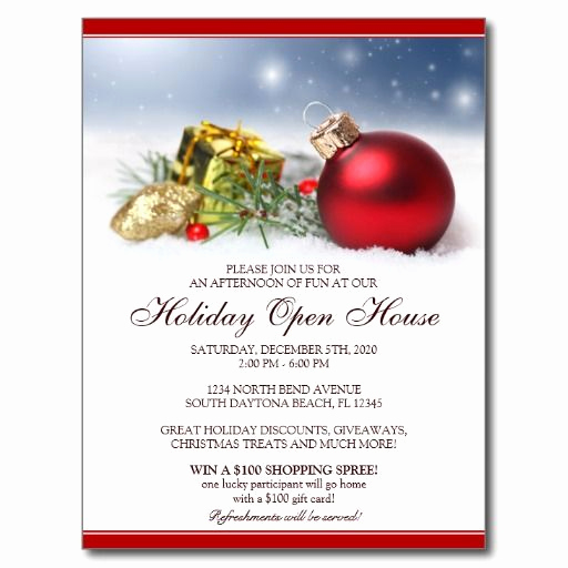 Holiday Open House Invitation Wording Inspirational Best 25 Open House Invitation Ideas On Pinterest