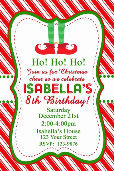 Holiday Party Invitation Ideas Luxury Best 25 December Birthday Parties Ideas On Pinterest