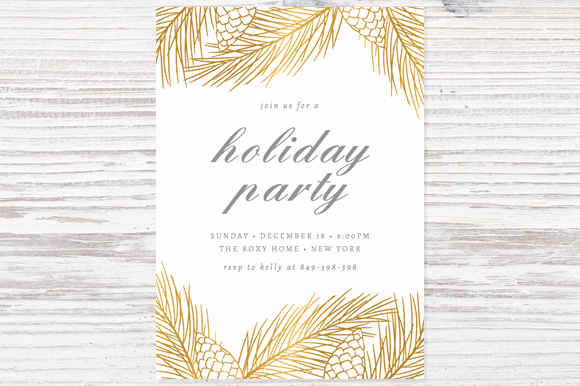 Holiday Party Invitation Template Beautiful 16 Shop Invitation Template Deals