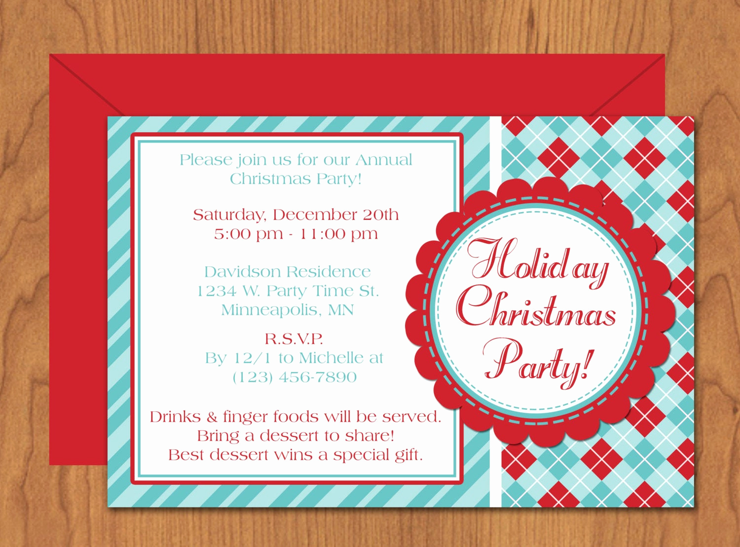 Holiday Party Invitation Template Fresh Christmas Party Invitation Editable Template Microsoft