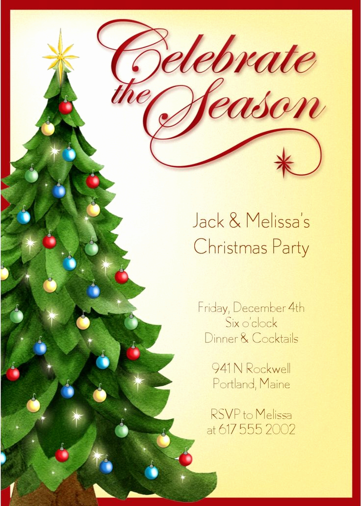 Holiday Party Invitation Template Lovely 51 Best Invites & Templates Images On Pinterest