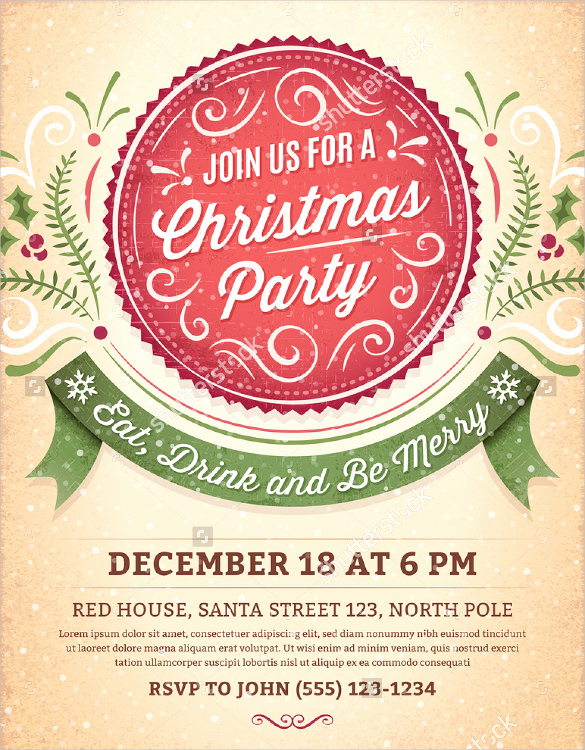 Holiday Party Invitation Template Luxury 59 Invitation Templates Psd Ai Word Indesign