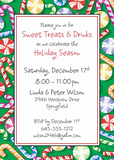 Holiday Potluck Invitation Wording Awesome Holiday Potluck Invitation Wording