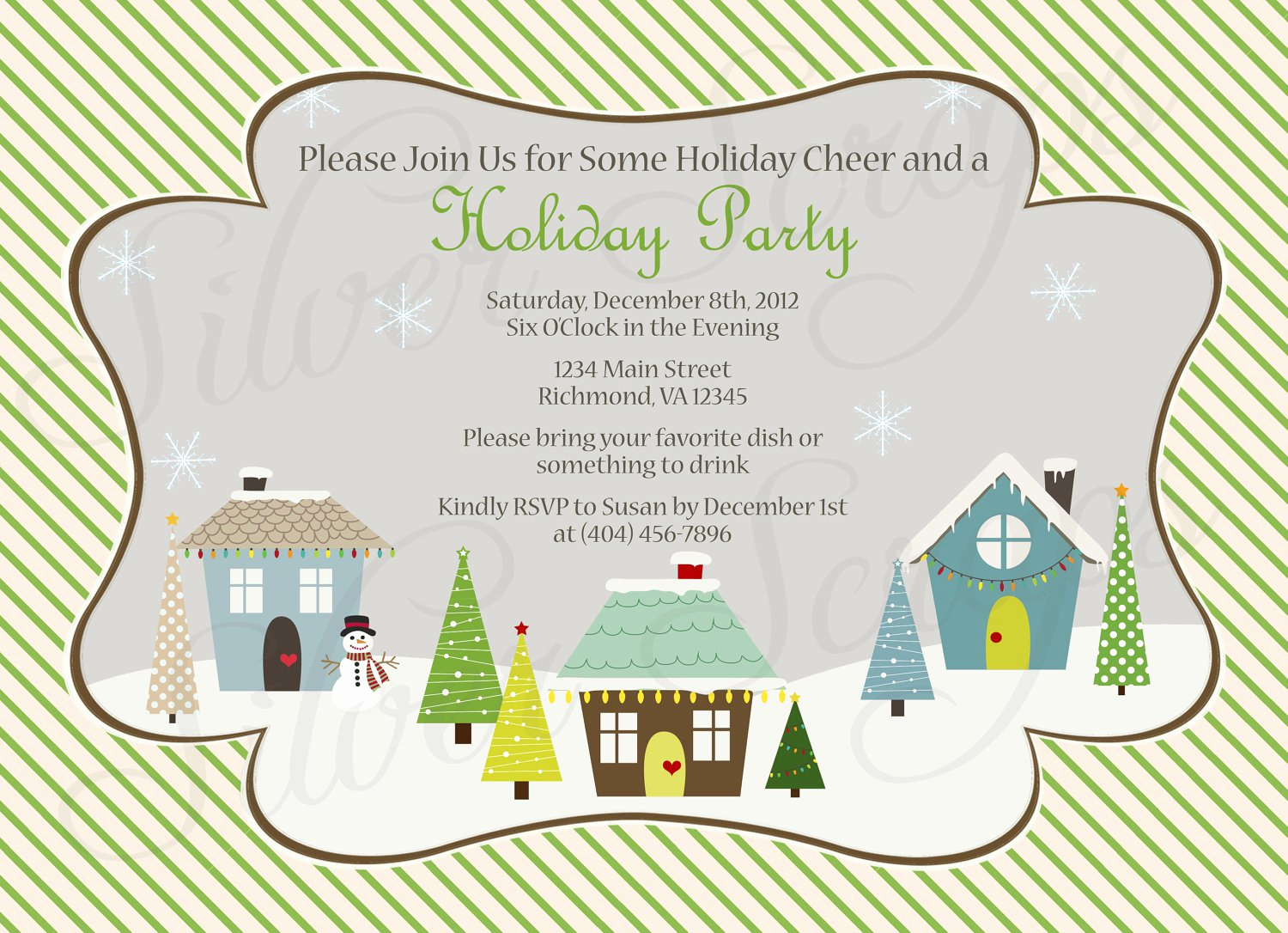 Holiday Potluck Invitation Wording Elegant Sample Potluck Invitation