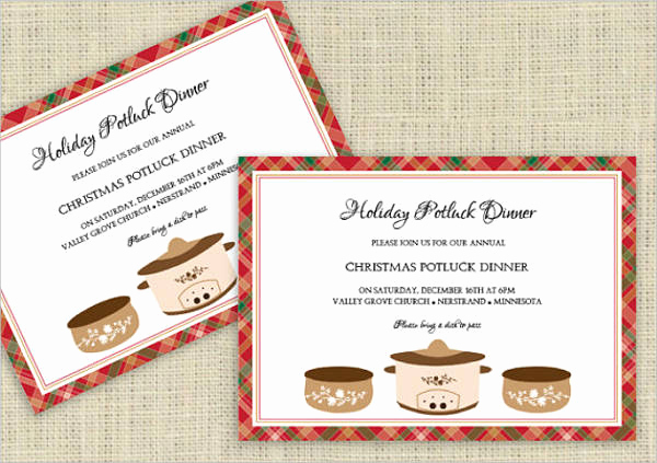 Holiday Potluck Invitation Wording Inspirational 10 Potluck Party Invitations Psd Ai