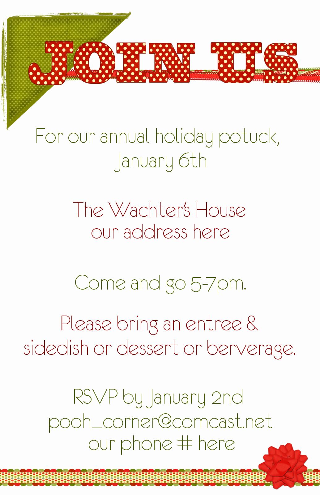 Holiday Potluck Invitation Wording Inspirational Christmas Potluck Quotes Quotesgram