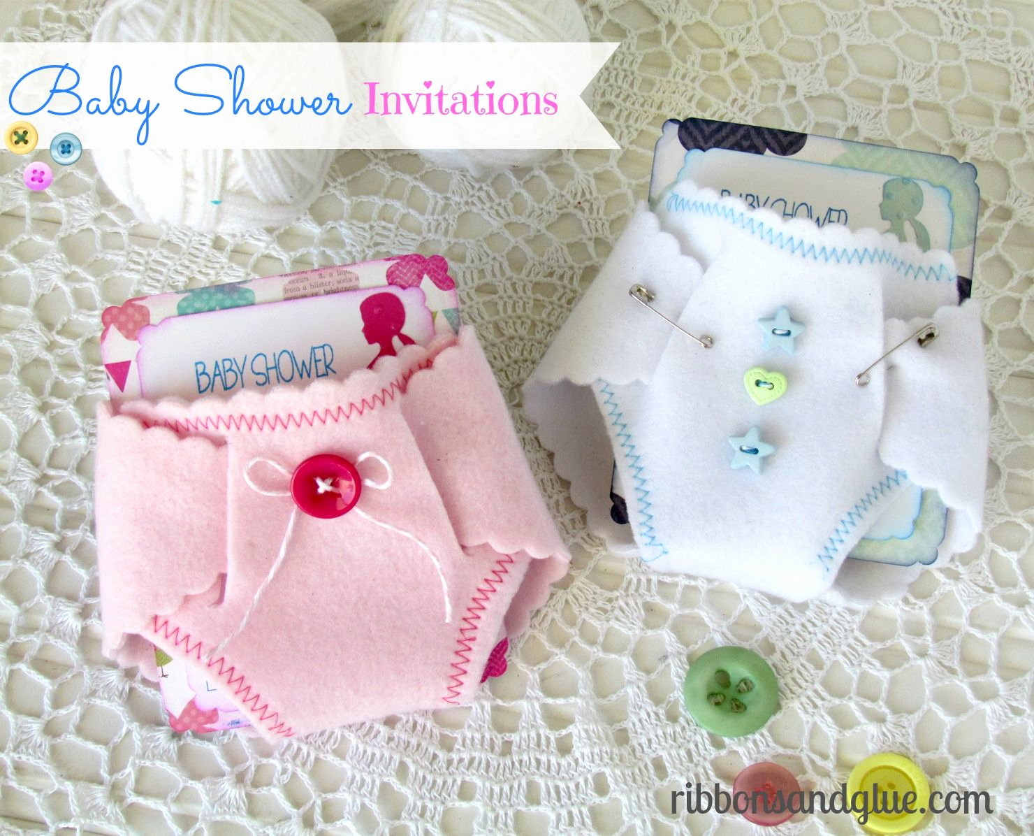 Homemade Baby Shower Invitation Ideas Inspirational Baby Shower Diaper Invitations Diy Ideas