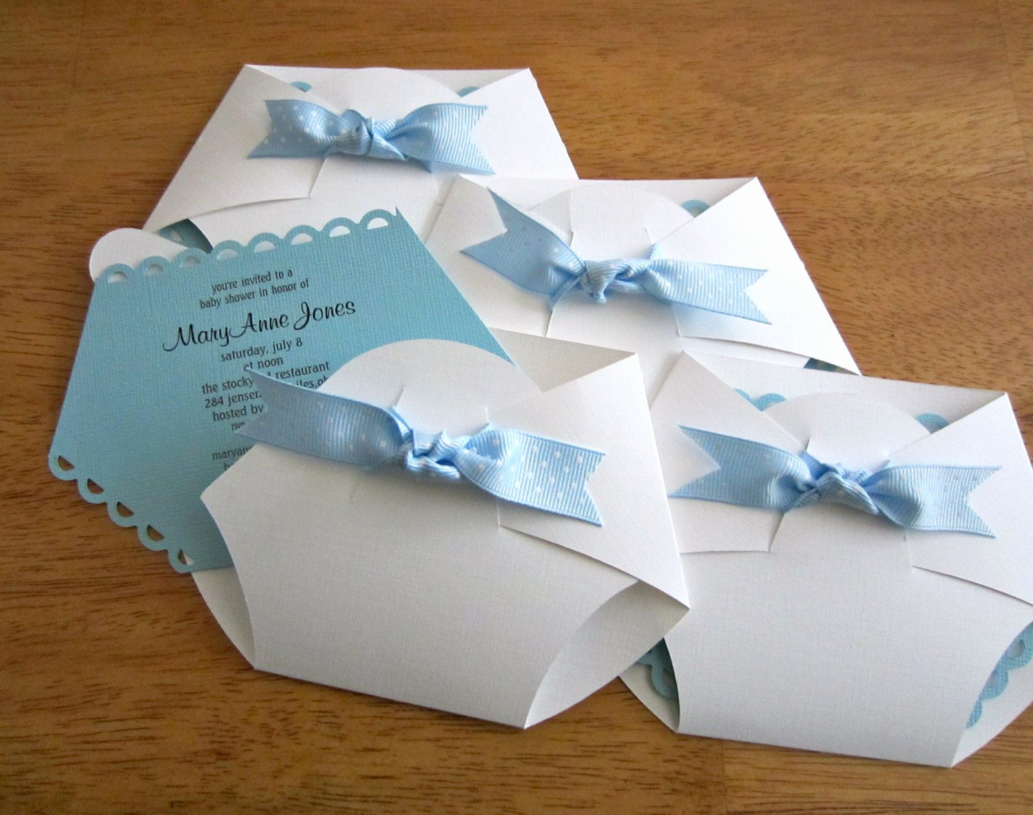 Homemade Baby Shower Invitation Ideas Luxury Baby Shower Invitation Diaper Shape