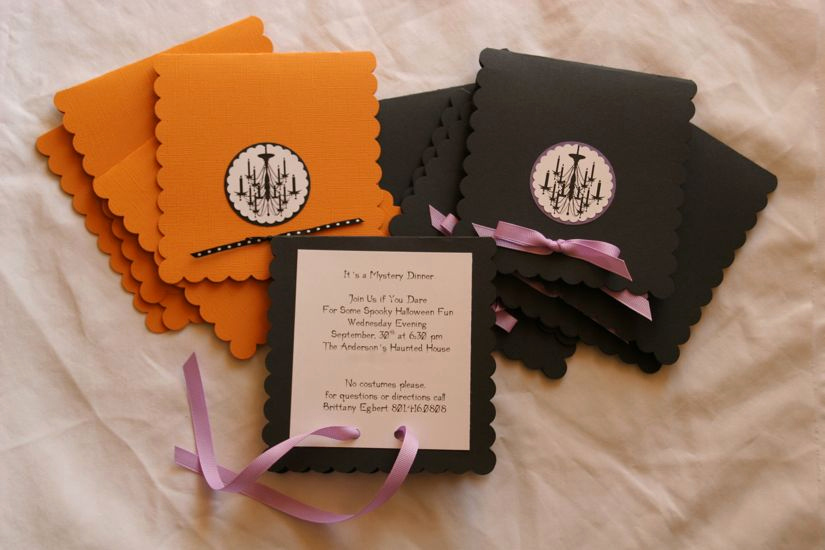 Homemade Birthday Invitation Ideas Beautiful Teen Halloween Party with Guest E Charming Party