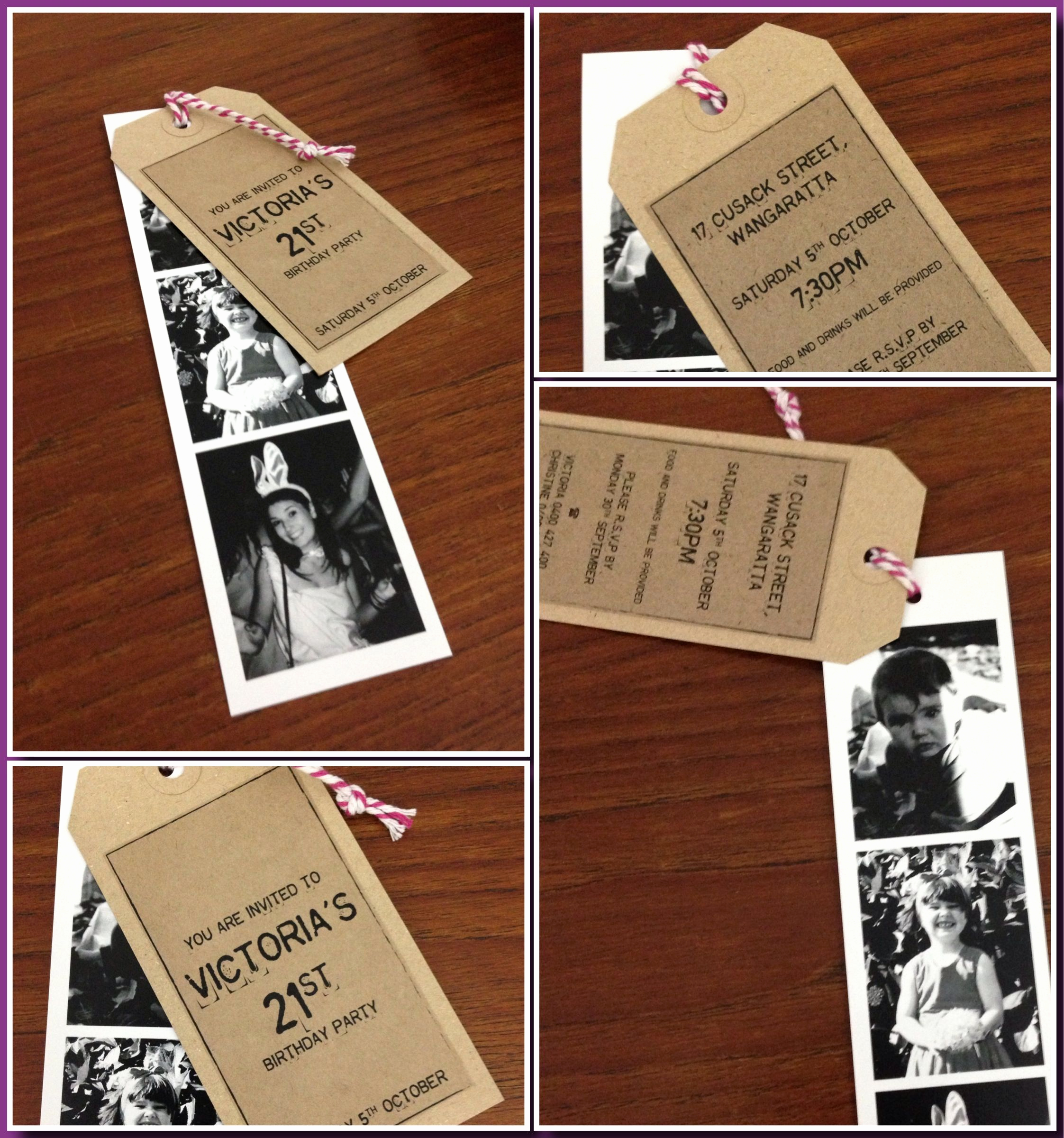 Homemade Birthday Invitation Ideas Elegant Best 25 21st Invitations Ideas On Pinterest