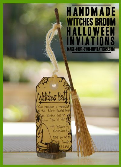 Homemade Birthday Invitation Ideas Inspirational 25 Best Ideas About Halloween Party Invitations On