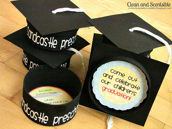 Homemade Graduation Invitation Ideas Awesome Graduation Party Invitations Clean and Scentsible