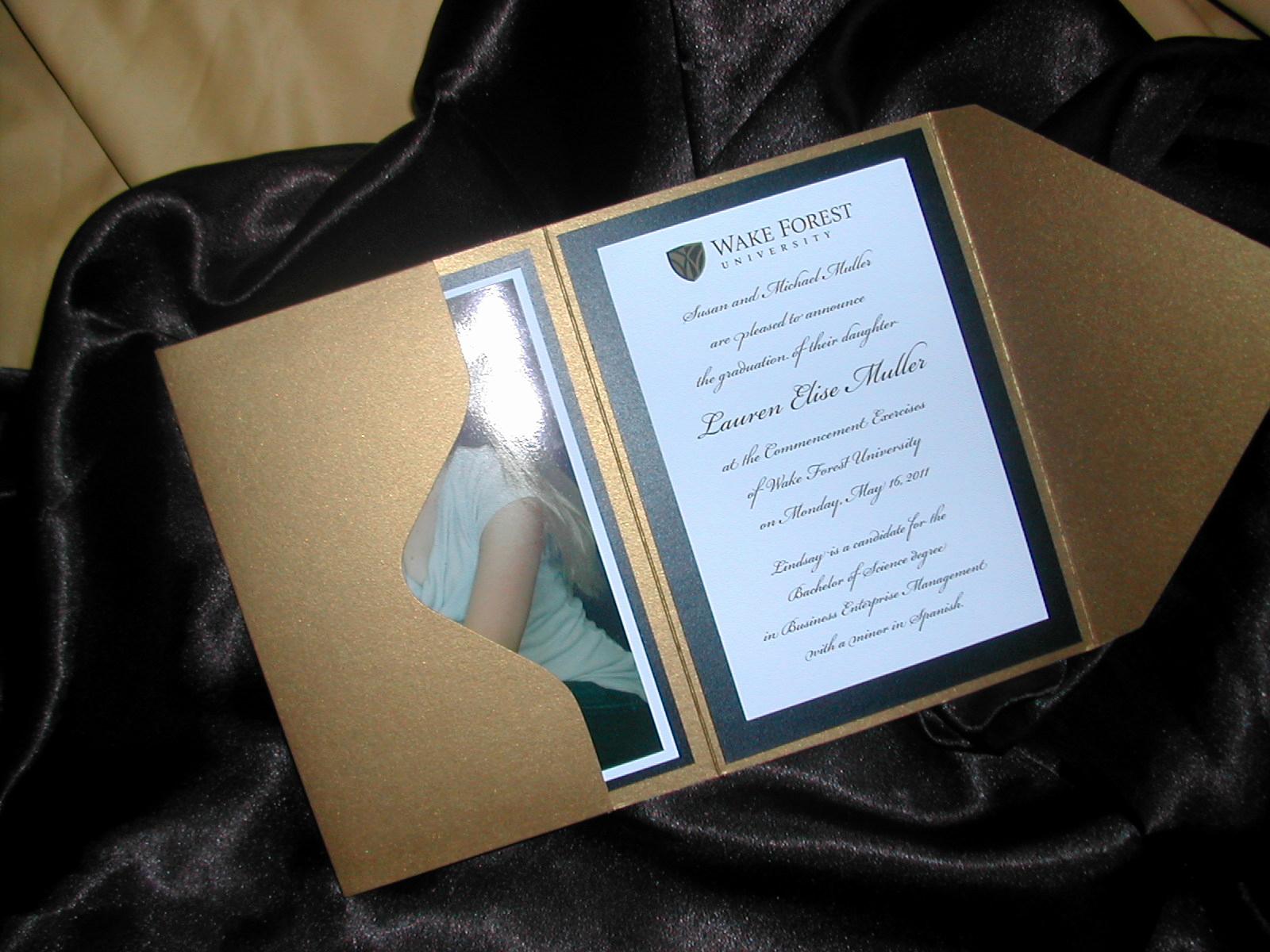 Homemade Graduation Invitation Ideas Inspirational Diy Graduation Announcement