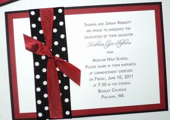 Homemade Graduation Invitation Ideas Inspirational Graduation Invitations Announcements