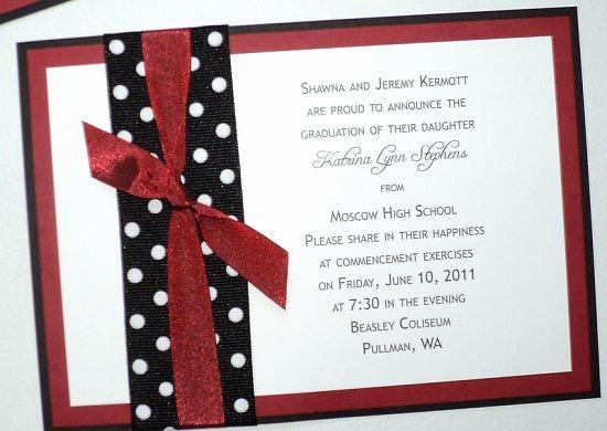 Homemade Graduation Invitation Ideas Inspirational Graduation Invitations Announcements
