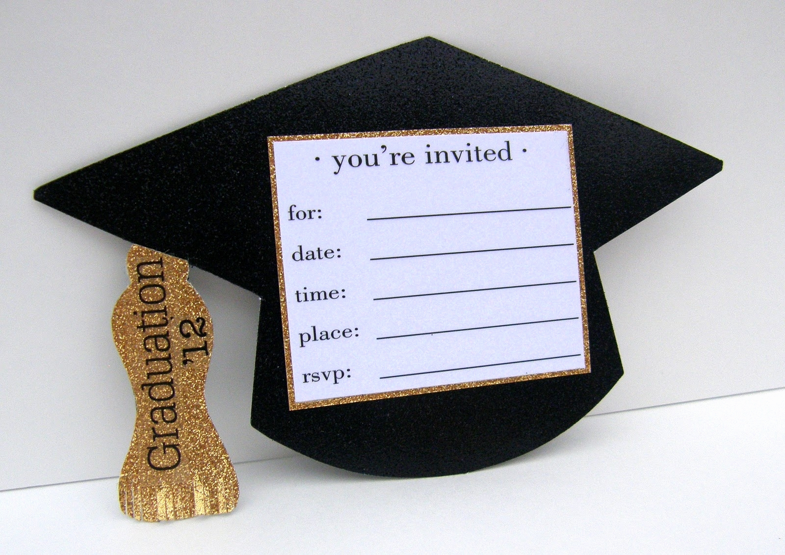 Homemade Graduation Invitation Ideas Lovely Homemade Graduation Invitation Ideas Cobypic