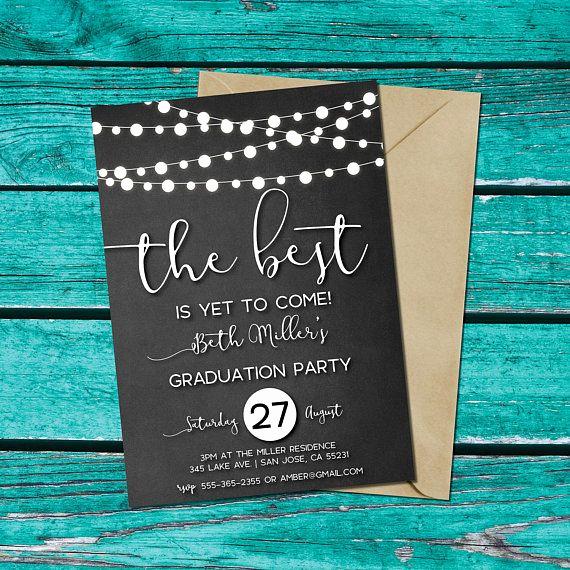 Homemade Graduation Invitation Ideas Luxury Best 25 Graduation Invitations Ideas On Pinterest