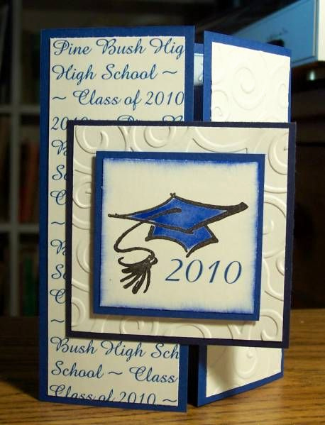 Homemade Graduation Invitation Ideas New Graduation Announcement by Bln Cards and Paper Crafts at