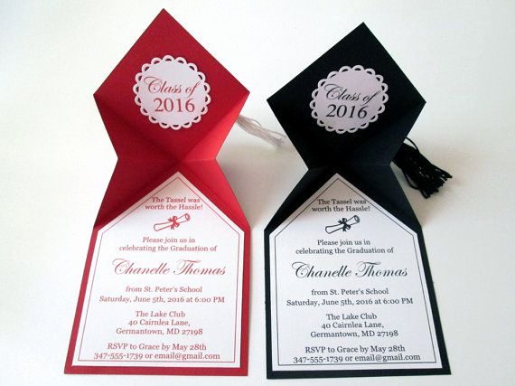Homemade Graduation Invitation Ideas Unique Best 25 High School Graduation Invitations Ideas On