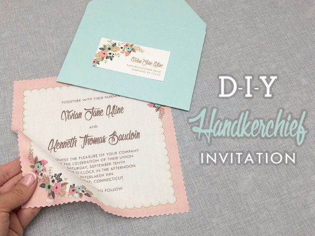 Homemade Wedding Invitation Ideas Beautiful 27 Fabulous Diy Wedding Invitation Ideas
