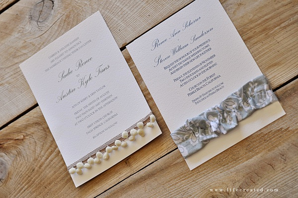 Homemade Wedding Invitation Ideas Fresh Craftaholics Anonymous