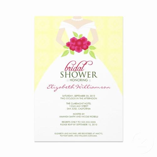 Honeymoon Shower Invitation Wording Best Of Sample Bridal Shower Invitations Wording