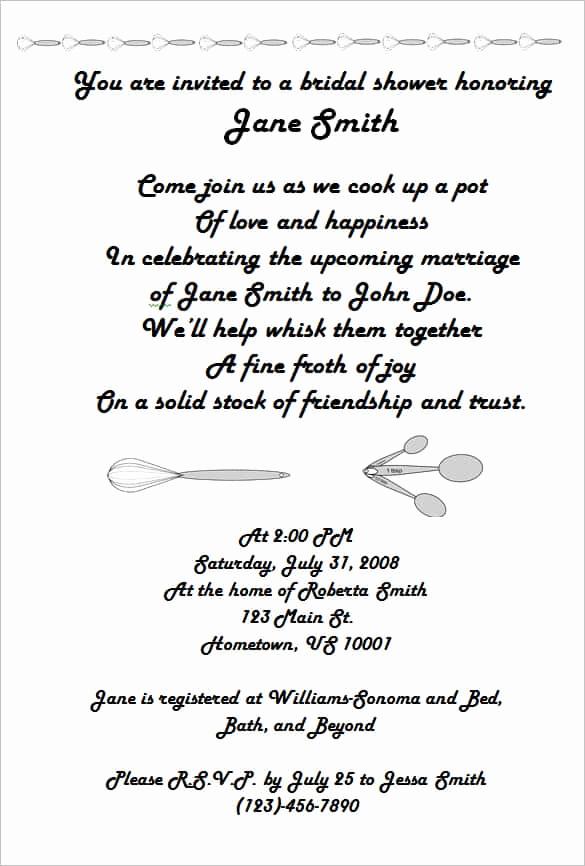 Honeymoon Shower Invitation Wording Elegant 69 Microsoft Invitation Templates Word