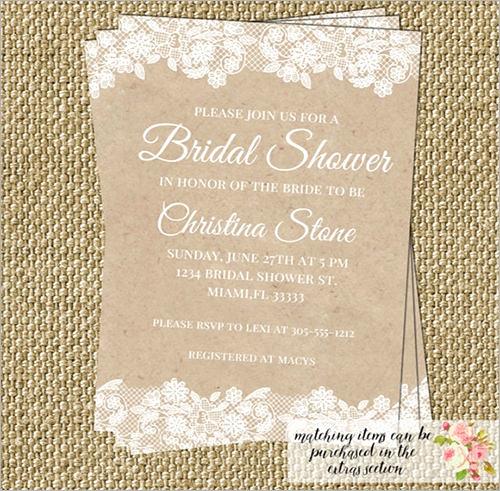 Honeymoon Shower Invitation Wording Inspirational Sample Invitation Template Download Premium and Free