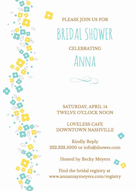 Honeymoon Shower Invitation Wording Luxury Bridal Shower Invitation Wording