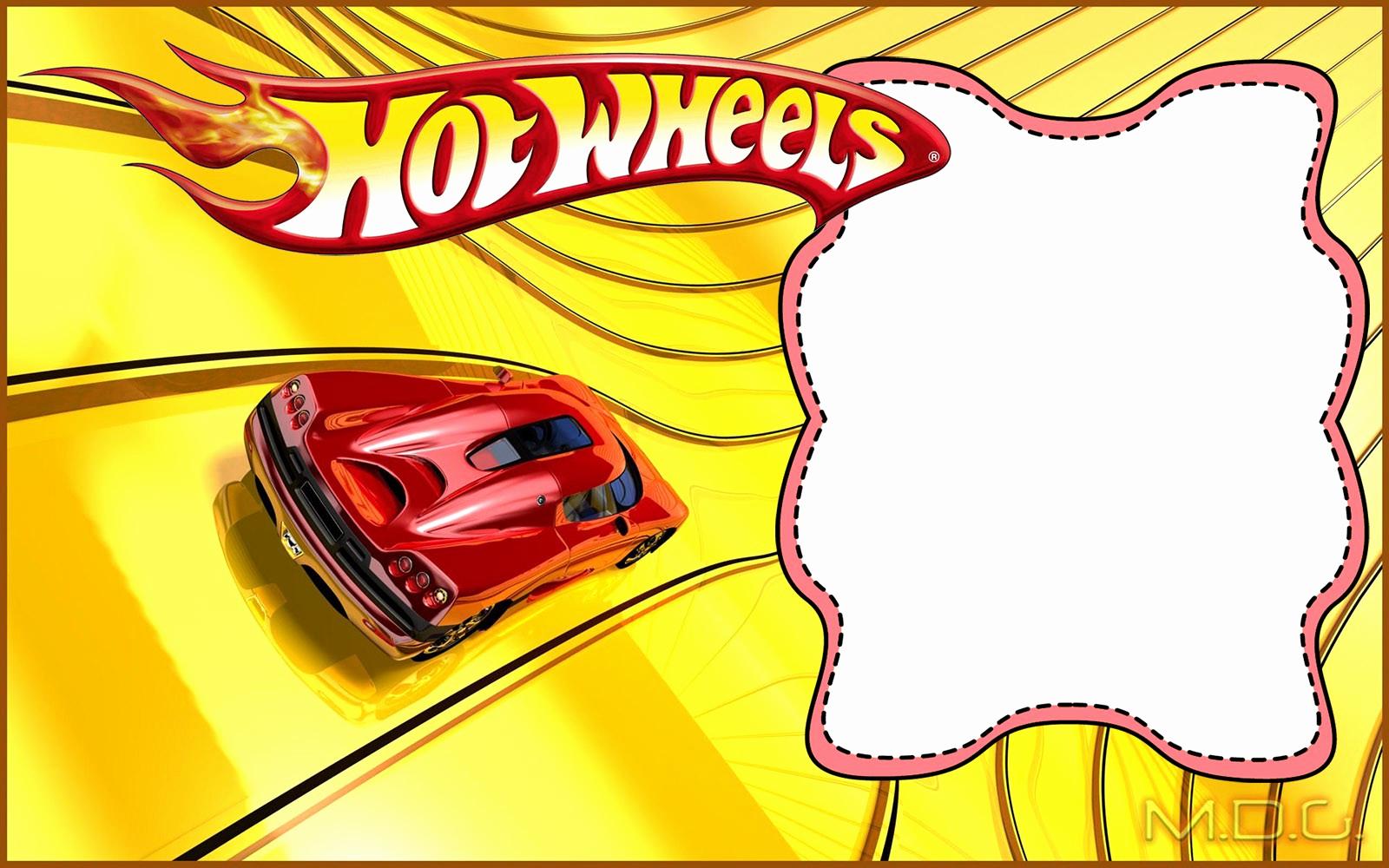 Hot Wheels Invitation Template Beautiful Free Printable Hot Wheels Invitation Templates for Download